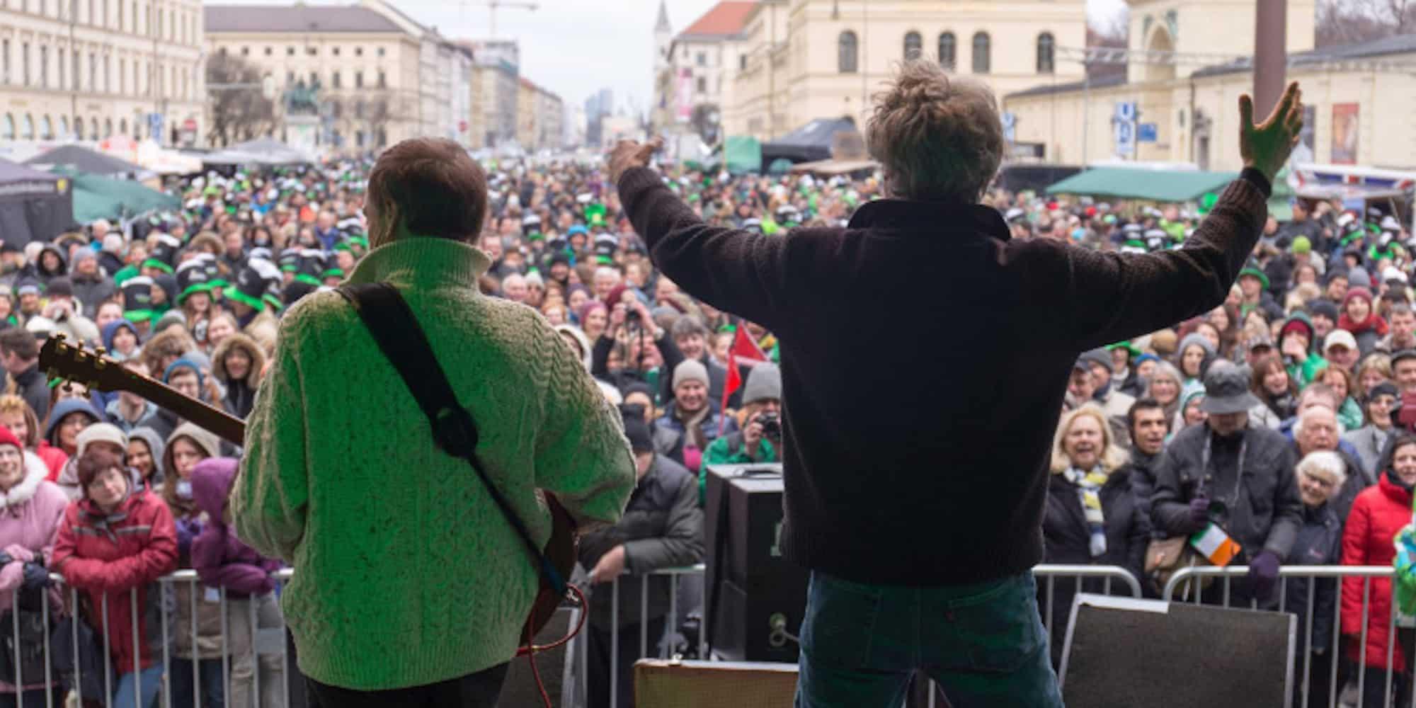 MARKnSIMON - Liveauftritt St. Patricks Day München